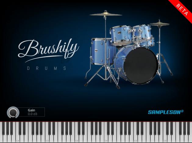 Free Brush Drums Kit VST/AU | Brushify by Sampleson